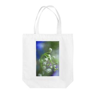 Delphinium  Tote bags