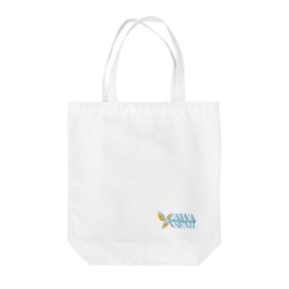 カワセミデザイン舎 Tote bags