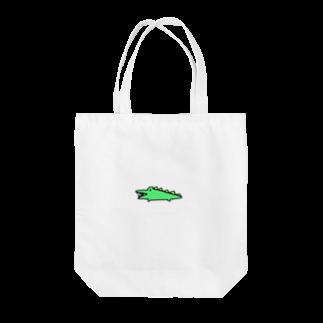 はむこストアのワニコさん Tote bags