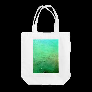 古春一生(Koharu Issey)のメロンソーダの海。 Tote bags