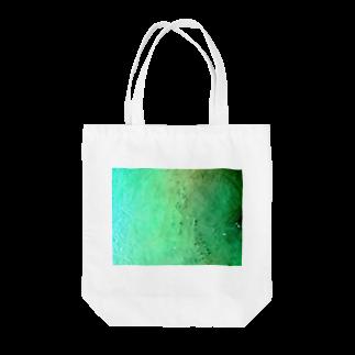 古春一生(Koharu Issey)のメロンソーダの海。(薄濃) Tote bags