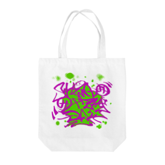 Shindo Of The Dayのタギング風ロゴ アナザーカラー Tote bags