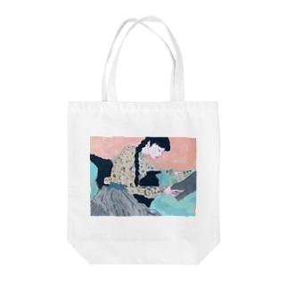 ネムイ ネムイ Tote bags