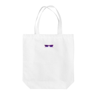 the purple sunglasses  Tote bags
