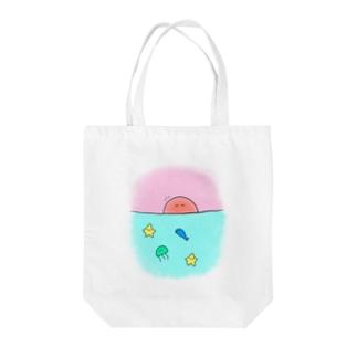 うみのいきもの Tote bags