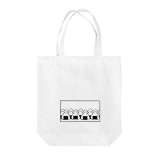 おにぎりの大群(枠あり) Tote bags