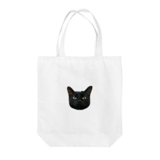 猫の九太郎 Tote bags