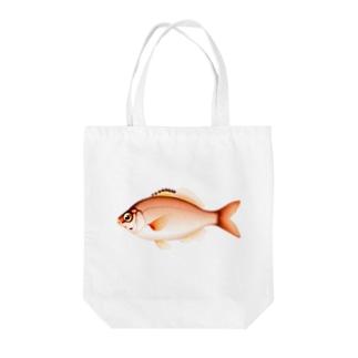 【魚類】ウミタナゴちゃん☆海鱮 Tote bags