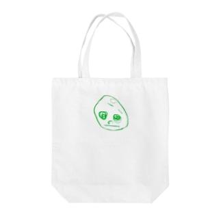 2歳半の絵 くるりちゃん(仮) Tote bags