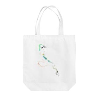 ヌードクロッキーI Tote bags