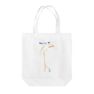 ウードクロッキーM Tote bags