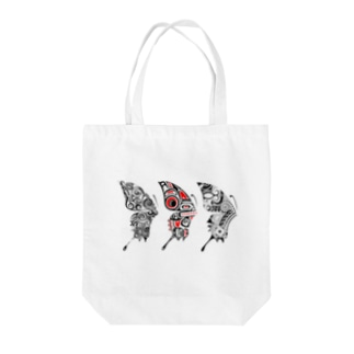 3 Butterfly Tote bags