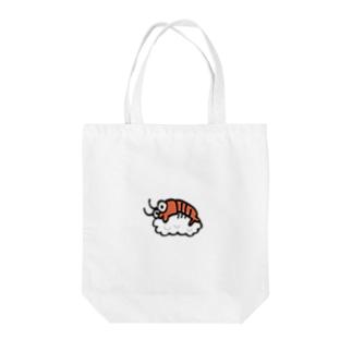 エビ寿司 Tote bags