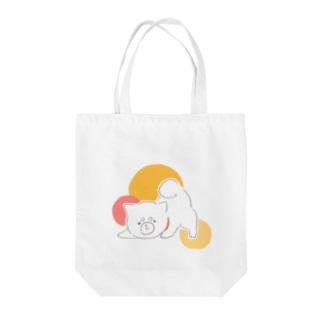 トートバッグ(ムギ) Tote bags