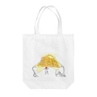 いいねさん Tote bags