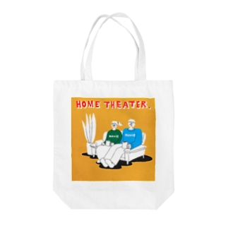 "shinri murakami "" HOME THEATER ""  Tote bags"