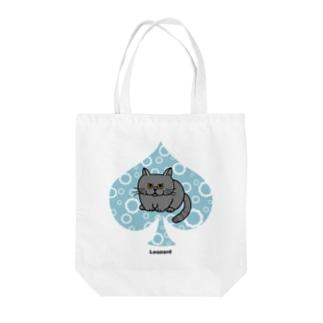 レオンspade Tote bags