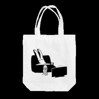 HMCの不要不急ガール Tote bags