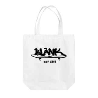 ____Ryuno____     のBLANK sk8 BLACK Tote bags