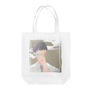 喫煙 Tote bags