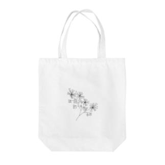 『糸の花』amayadori Tote bags