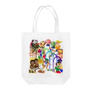 RAINBOW Tote bags