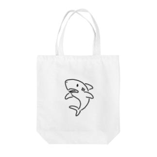 わりと単純なサメ 2 薄い色用 Tote bags