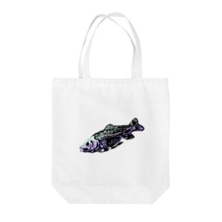 魚の骨 Tote bags