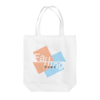 Yomogi-FallingDown Tote bags