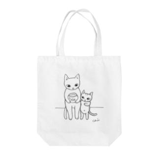 ねことこねこと(きんぎょ) Tote bags