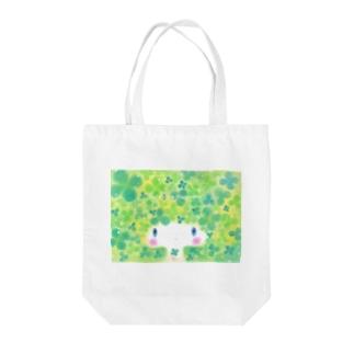 わたわたのおみせのクローバー姫 Tote bags