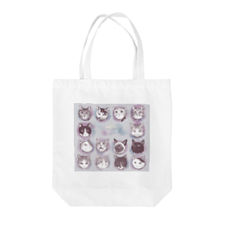 はるさめ商店のNo cat no life  Tote bags