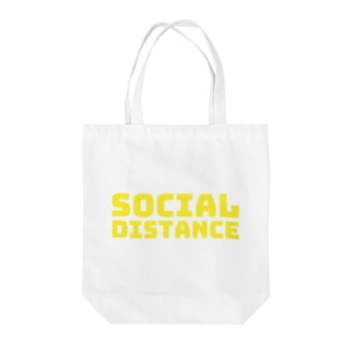 socail distance Tote bags