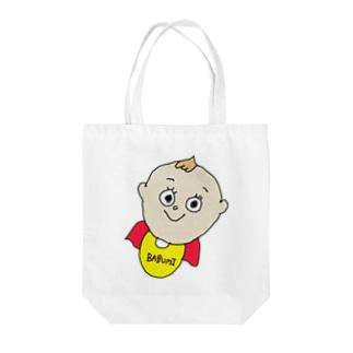 BABUMI Tote bags
