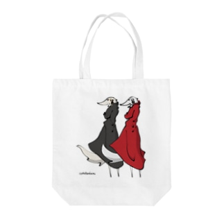 ボルゾイ スタイリッシュ Tote bags