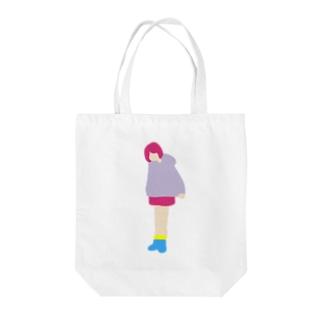 Earthlingの地球人(オンナノコ) Tote bags