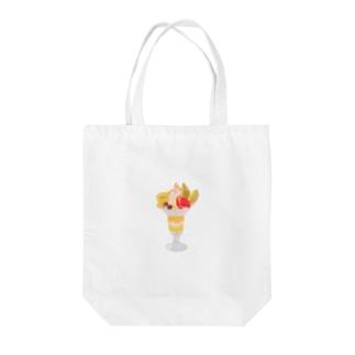 フルーツパフェなアイテム Tote bags