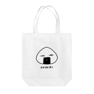 ONIGIRI Tote bags