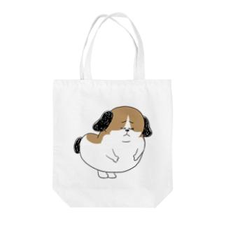 もじゃまる謝罪 Tote bags