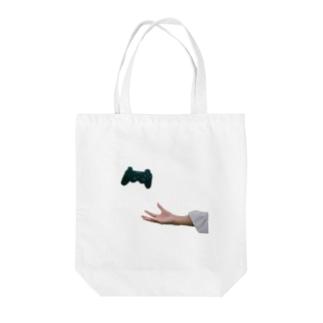 ログアウト Tote bags