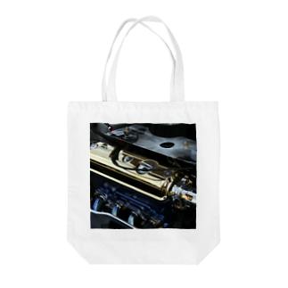 エンジンTo-To Tote bags