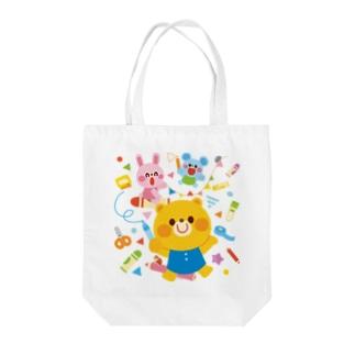 Illustrator イシグロフミカのお絵かき Tote bags