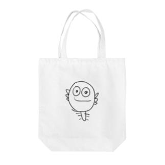 ウーパールーパー君バッグ Tote bags