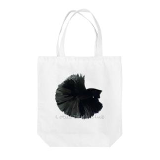 黒いベタトートバッグ Tote bags