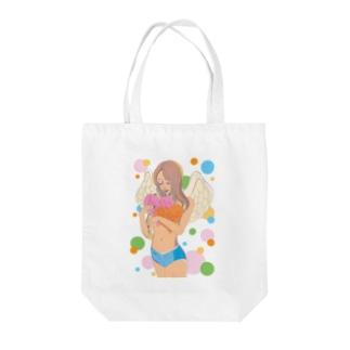 Love & Pease Tote bags