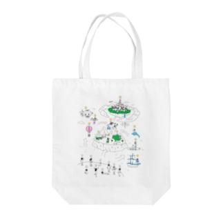 Visionary Work Tote bags