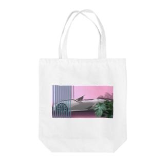 車 Tote bags