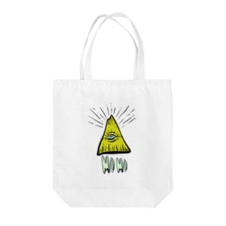 hiromashiiiのMOMOさん Tote bags