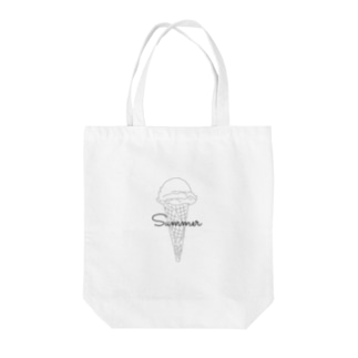 hatena ❔のSummer🍨 Tote bags