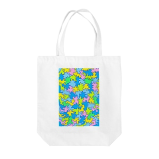 P&BのP&B=QUILT-(A)3 Tote bags